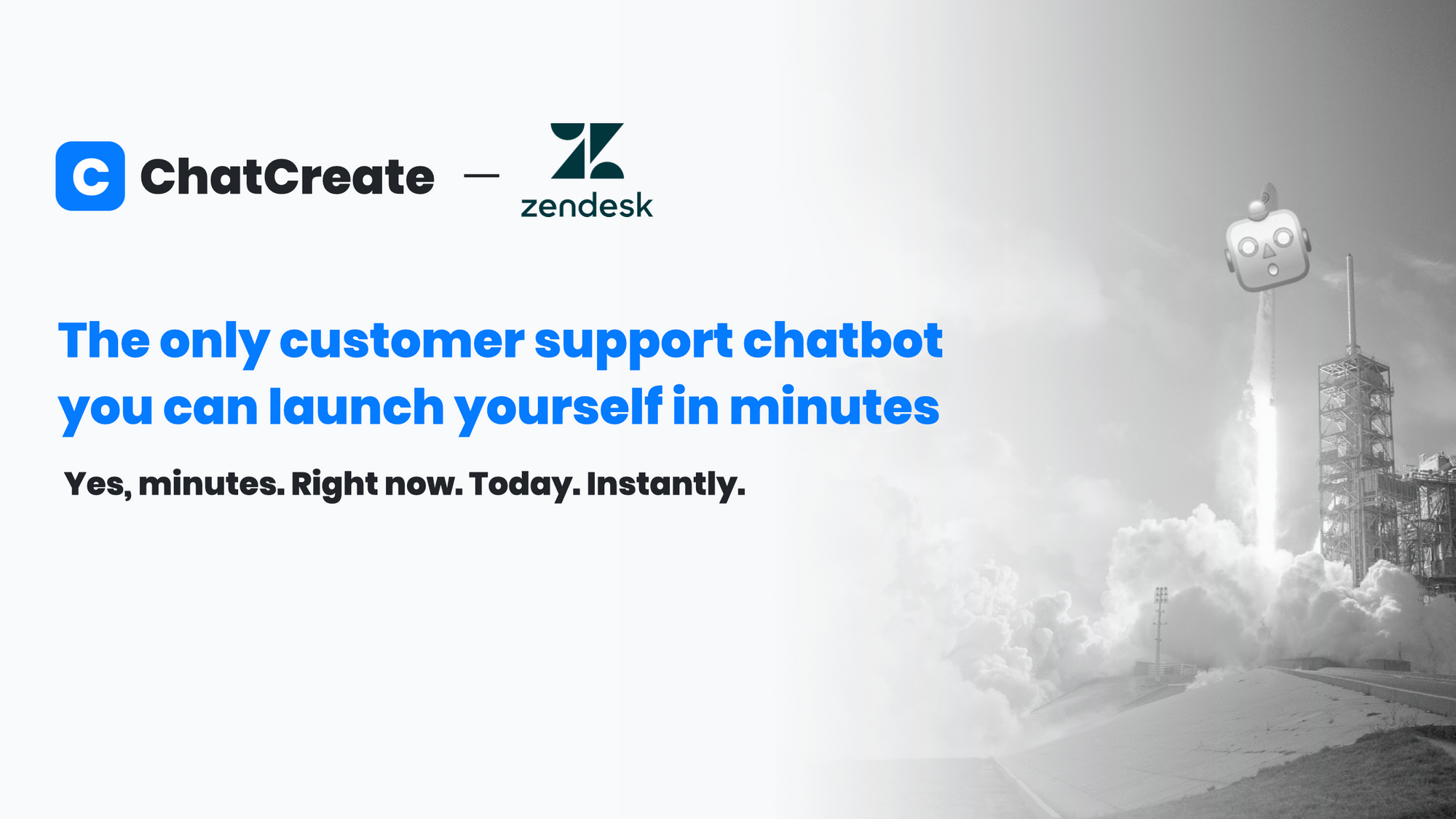 Step-by-step guide: How to setup a Zendesk chatbot with ChatCreate.